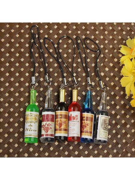 Брелок винные бутылочки (10 шт.)