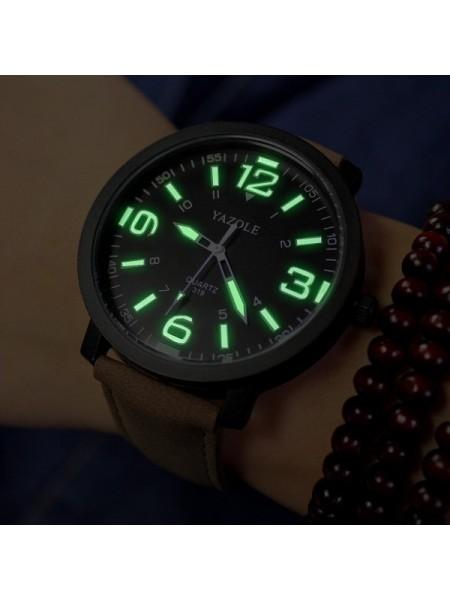 Мужские наручные светящийся часы YAZOLE