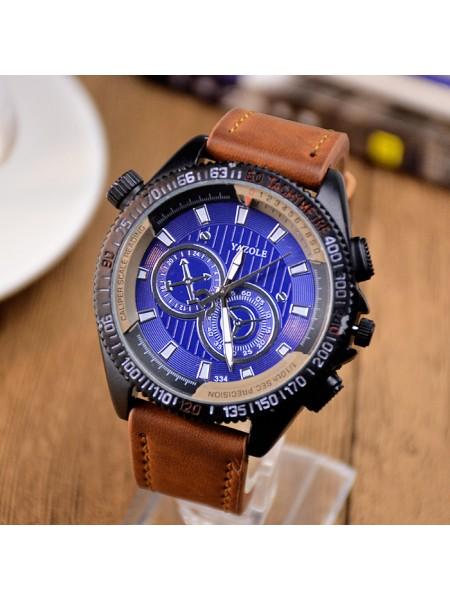 Мужские кварцевые часы YAZOLE 334