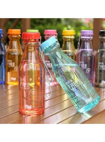 Пластиковая спортивная бутылка для воды (550 мл)