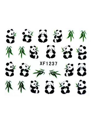 Наклейки для ногтей с дизайном Panda