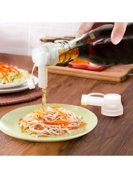 Пластиковый гейзер насадка для масла и соуса (2 шт.)