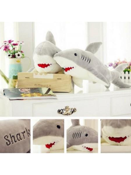 Детская плюшевая игрушка акула (70 см)