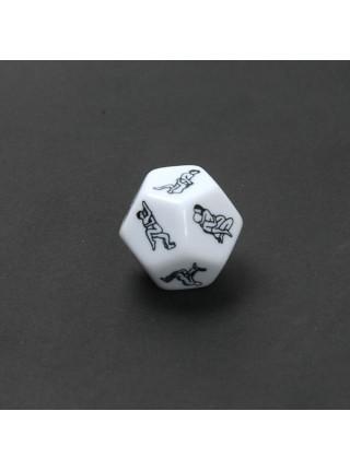 Кубик для взрослых игр «Камасутра»