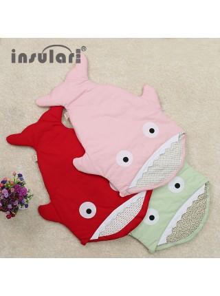 Спальный мешок для новорожденных «Акула»