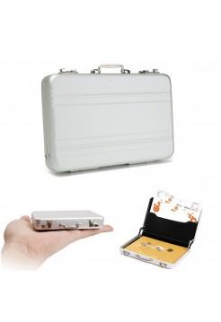 Алюминиевый кейс для кредитных и визитных карточек