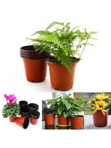 Пластиковые горшочки для растений (20 шт.)