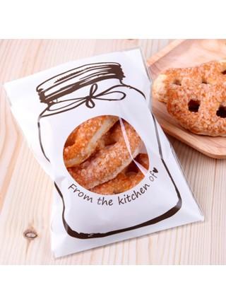 Упаковочные пакетики для бисквитного печенья и конфет (100 шт.)