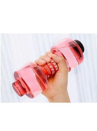 Фитнес бутылка в форме гантели (550 мл)