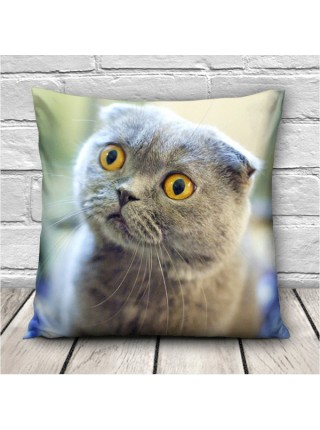 Наволочки с 3D печатью котят