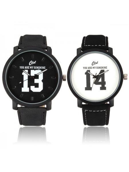 Наручные кварцевые часы «13 & 14»