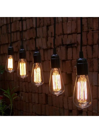 Античная лампа накаливания (E27, 220V)