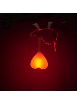 Предупрупреждающий задний фонарь для велосипеда