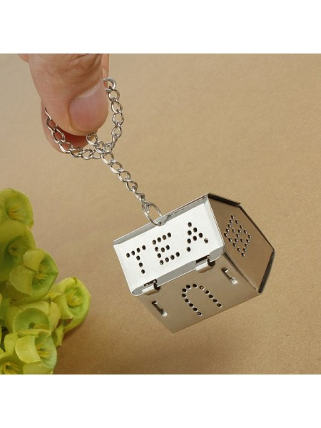 Металлический заварник для чая «Домик»