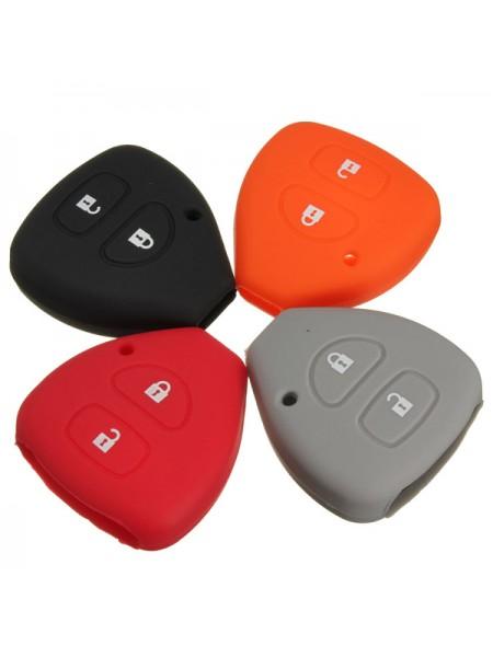 Силиконовый защитный чехол для ключа Toyota Yaris