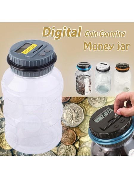 Автоматическая копилка с счетчиком монет