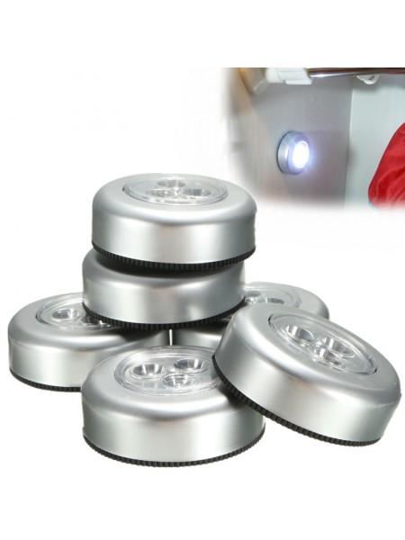 Светильники с сенсорным выключателем (6 шт.)