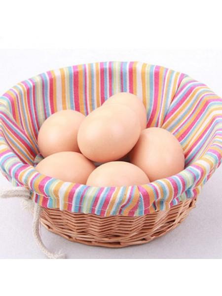 Декоративные куриные яйца (10 шт.)
