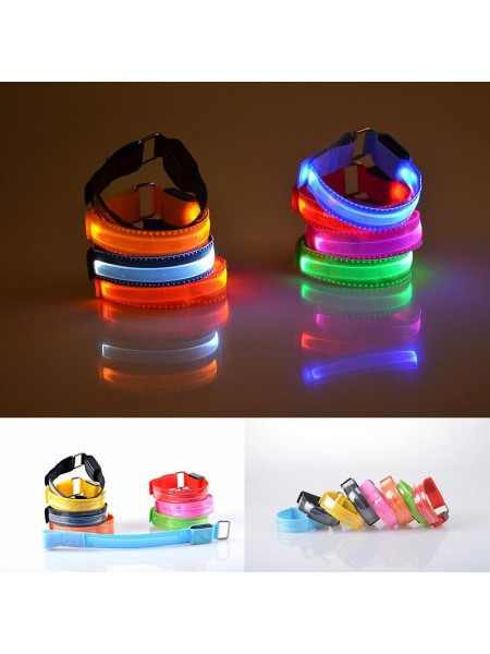 Светящийся LED браслет на руку