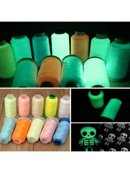 Светящиеся люминесцентные нитки (1000 ярдов)