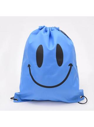 Сумка рюкзак смайлик из непромакаемой ткани
