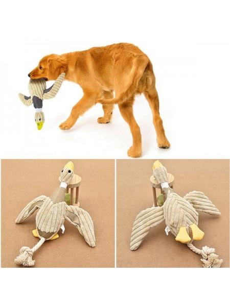 Утка для игр и дрессировки собак