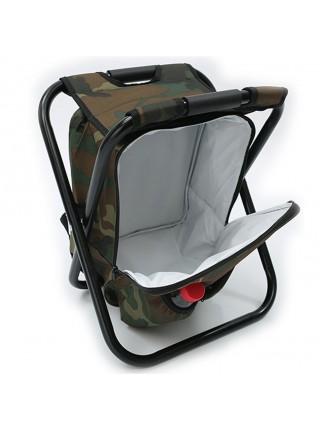 Портативный складной стул рюкзак