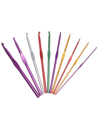 Набор крючков для вязания в удобном чехле (22 шт.)
