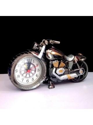 Настольные ретро-часы «3D мотоцикл»