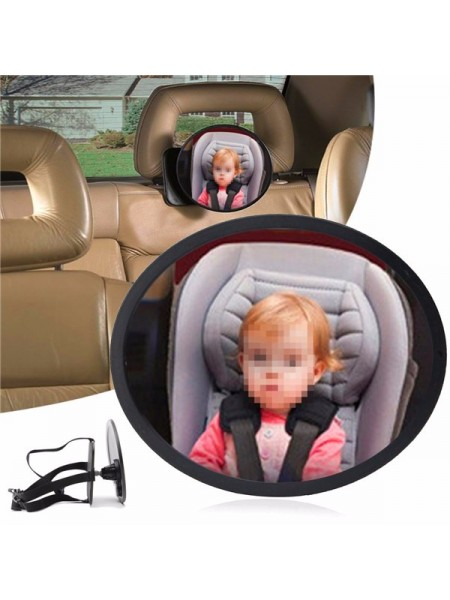 Дополнительное зеркало для контроля за ребенком в автомобиле