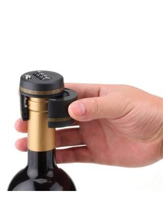 Пробка для бутылок вина с кодовым замком