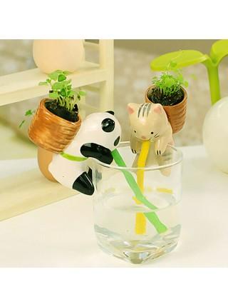 Водопоглощающие горшочки-зверушки для комнатных растений