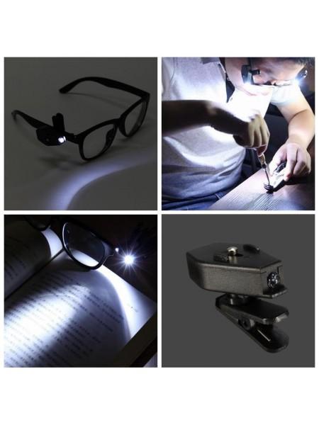 Очки с подсветкой для чтения и ремонта