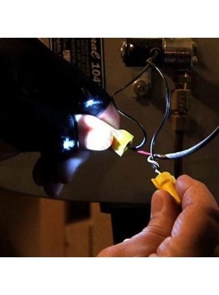 Перчатка-фонарик для работы в ночное время