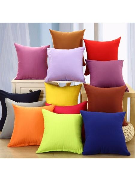 Разноцветные наволочки для подушки
