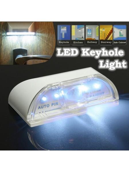 Лампа с датчиком движения для подсветки дверного замка