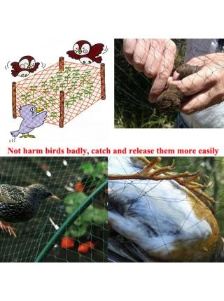 Защитная сетка от птиц для сада