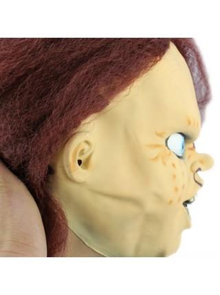 Латексная маска куклы чаки