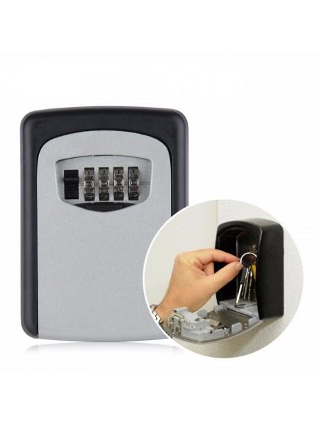 Настенный бокс с кодовым замком для хранения ключей