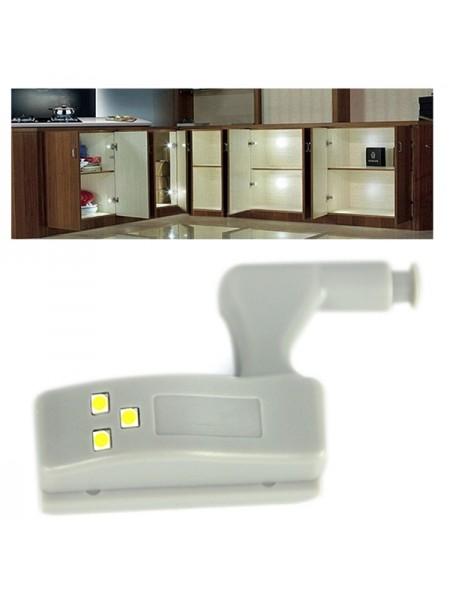 Светодиодная система освещения на шарнире для шкафов