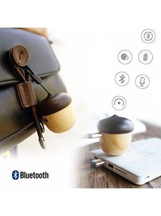 Деревянная Bluetooth-колонка для телефона «жёлудь»