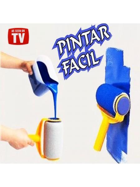Валик с резервуаром для краски Pintar Facil