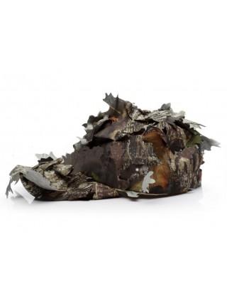 Кепка маскировочная с листьями
