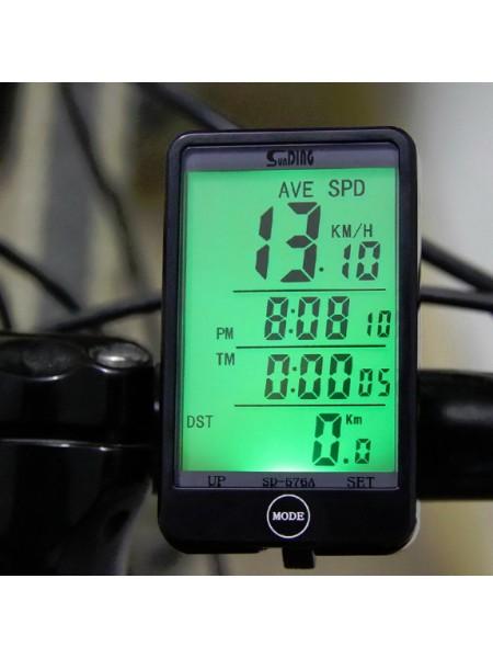 Велокомпьютер SunDing SD-576A