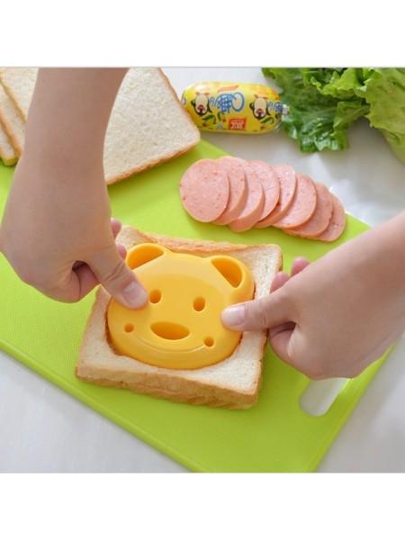 Пресс-форма для сендвича «Медвежонок»