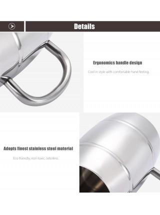 Металлическая кружка для пива (420 мл)