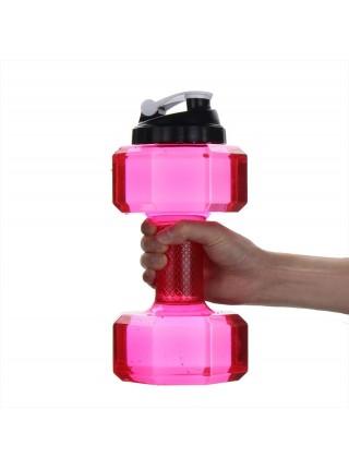 Спортивная бутылка в форме гантели