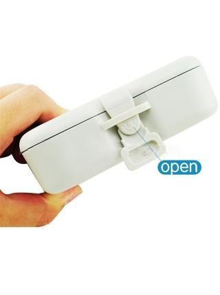 Контейнер для зубных протезов с зеркалом