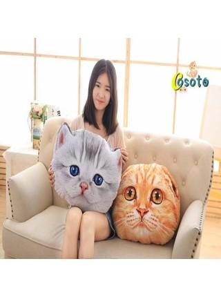 Декоративные подушки 3D котята
