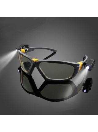 Защитные очки со светодиодной подсветкой